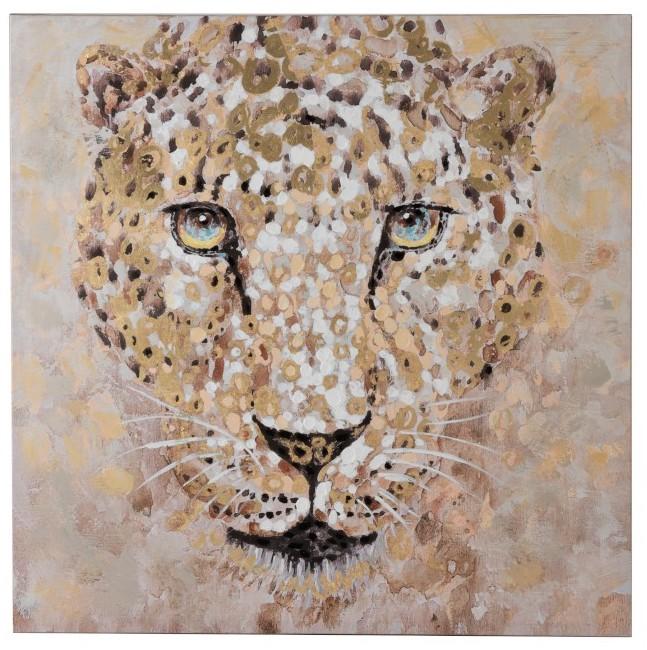 cadre léopard, jungle