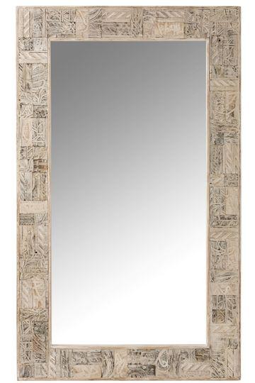 grand miroir en bois