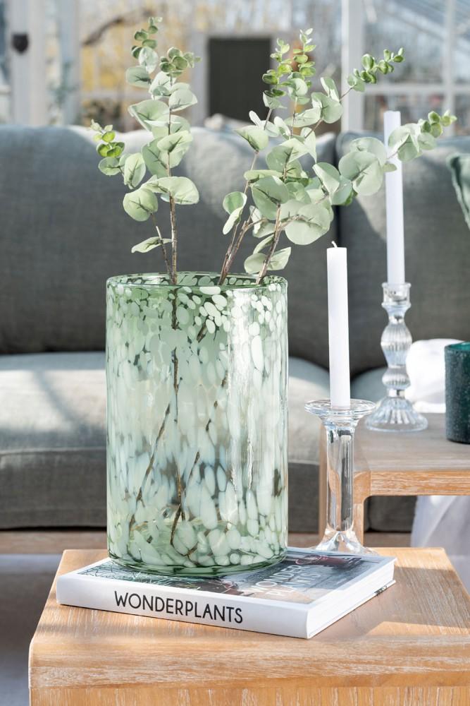 photophore transparent vert