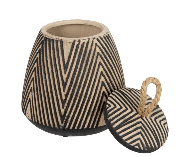 pot d décoration style ethnique